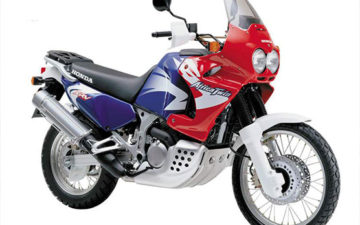 Honda Africa Twin (or similar)